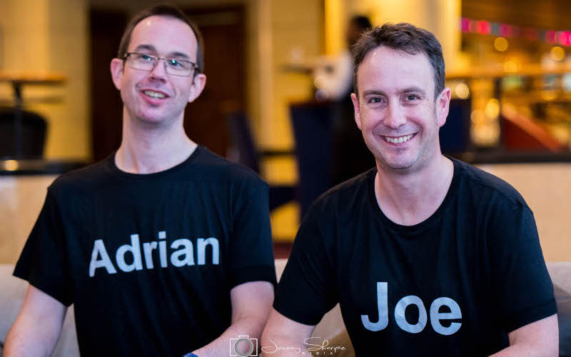 Adrian Reed and Joe Newbert kick off The Adrian and Joe Show